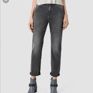 All Saints Amy Girlfriend Jeans
